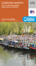 London North Explorer Map 173 - New - OS - Ordnance Survey 2015