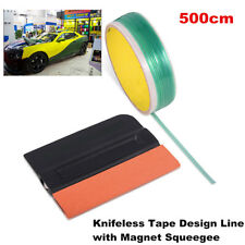 5M Car Sticker Tool Graphics Wraps Cutting Design Film Cut Knife & Squeegee