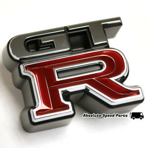 GENUINE Nissan R34 GT-R Front Emblem OEM Badge 62896-AA400