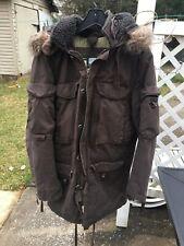 GAP 69 G.I. Cold Weather Parka Jacket Army  2007 Alpine Snow Vtg Med  Fur