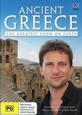 Ancient Greece - The Greatest Show on Earth (DVD, 2016) NEW DVD