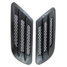 Car Side Fender Air Flow Mesh Trim Vents Simulation Intake Grille Sticker Decor