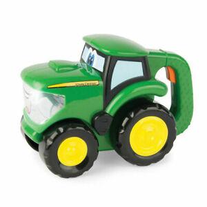 JOHN DEERE-15cm Johnny Kids Tractor Flashlight/Torch Vehicle Play/Toys/18m+ GRN