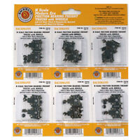 Bachmann 42536 Friction-Bearing Freight Trucks w/ Wheels (Pack of 6) : N Scale