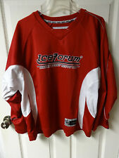 Inaria Ice Forum Hockey Jersey Size Men's Small Where Sport Meets Ice Ping # 1