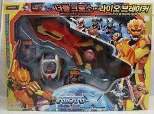 Transformers Sazer-X Gransazers : Knuckle-Cross & Lio-Breaker (Korea Ver)