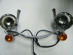 Obsolete Harley Davidson Deluxe Auxiliary Lamp Kit 68669 05