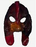 Venezianische Masken Huhn Ledermaske - In Venedig Handgemacht!