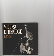 Melissa Etheridge- Live US promo cd single.