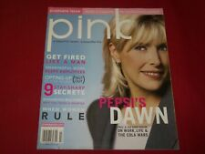 2005 JUNE/JULY PINK MAGAZINE VOLUME 1 NO. 1 PEPSI'S DAWN HUDSON COVER - PB 2516