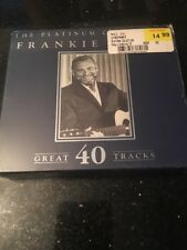 FRANKIE LAINE 40 Great Tracks new 2 CD set The Platinum Collection unopened 2 CD