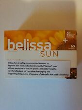 Belissa Sun acti-bronze Tanning tablets Beta Carotene Beta Karoten 60 TABLETS .