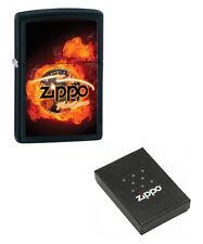 More details for personalised motorsports chrome zippo cigarette lighter, engraved for free