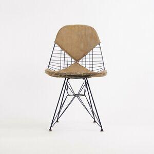 1952 Herman Miller Eames Draht Eiffelturm Stuhl DKR-2 Original Venedig Label