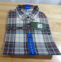 NWT Men's Orvis 100% Cotton Heritage Twill Long Sleeve Button Down Sport Shirt