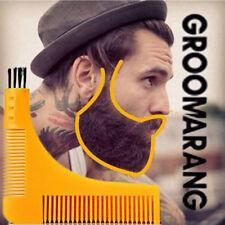 Plantilla de modelado groomarang Barba Estilo y peine herramienta para hombre Barba dispositivo