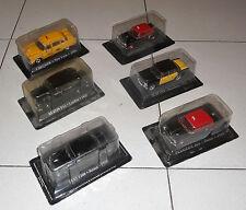 6 Auto TAXI NUOVE 1/43 Del Prado Peugeot 404  Austin FX4 Seat 1500 Fiat 1400