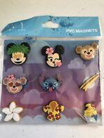 Walt Disney World Hawaii Aulani Resort PVC magnet Set