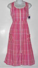 Celestial Dreams Ladies Sleeveless Empire Waist Zip Front Lounge Dress Small (S)