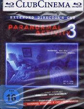 BLU-RAY NEU/OVP - Paranormal Activity 3 - Extended Director's Cut