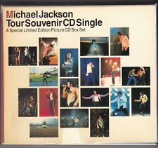 "MICHAEL JACKSON ""1992 TOUR SOUVENIR 5 CD SINGLES BOX"" JAPAN LTD PICTURE - NM"