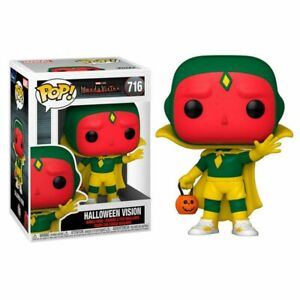 FUNKO Pop Marvel Wandavision 716 Vision (Halloween)