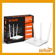 ROUTER WIRELESS TENDA 300MBPS WIFI ACCESS POINT 4 PORTE LAN 1 WAN 15 dbi F3