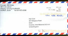 South Korea 2006 Airmail Cover To UK #C1270