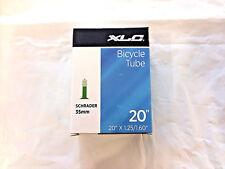 """XLC Tube 20"""" x 1.25-1.60"""" Bike Inner Tube Schrader Valve 35mm Bicycle"""