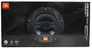 "JBL MS65B Club Marine 6.5"" Marine Audio 225W Peak Two-Way Speakers (Pair) *MS65B"