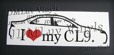 I love my CL9 04-08 Sticker decal JDM Honda cl7 tsx Accord euro