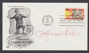 Arlene Dahl, American actress, signed Talking Pictures FDC. JSA Authenticated
