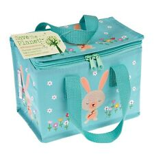 dotcomgiftshop DAISY THE RABBIT DESIGN RECYCLED INSULATED COOL WARM LUNCH BAG