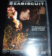 Seabiscuit (Toney Maguire Jeff Bridges) (Australia Region 4) DVD - NEW