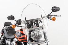 """SLIPSTREAMER 1986-1999 Yamaha XV1100 Virago HD-0 WINDSHIELD CLEAR 1.25"""" HD-0-C-1"""