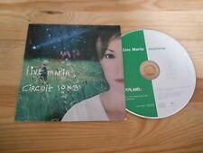 CD JAZZ Live Maria-Circuit canzoni (10) canzone PROMO Jazzland/UNVERSAL CB