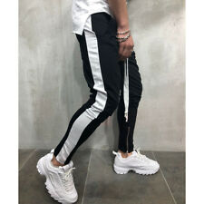 US Men's Casual Long Pants Gym Slim Fit Trousers Running Jogger Sport Sweatpants
