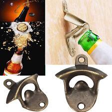 Bronze Wall Mounted Open Wine Beer Soda Glass Cap Bottle Opener Kitchen Bar