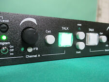 TOM COM 8 station 2 Ch system w/ Master station 1& 8 Muffs 5 pin RTS type 2 chan