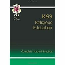 KS3 Religious Education Complete Study & Practice by CGP Books (Paperback, 2015)