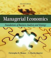 The Mcgraw-Hill Economics Series: Managerial Economics : Foundations of Business