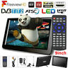 9'' Portable Digital TV ATSC/DVB Television Widescreen HD 1080P Player USB HDMI