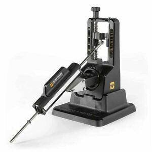 Work Sharp Precision Adjust Knife Sharpener with Tri-Brasive WSBCHPAJ