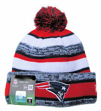 New England Patriots Super Bowl Champions Player Sideline Sports Knit Beanie Hat