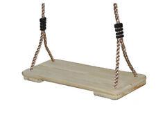 Holzschaukel Kinderschaukel Schaukelsitz aus Holz Schaukel Zubehör Spielplatz