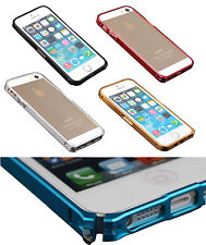 COVER CUSTODIA VAPOR 5 METALLO ALLUMINIO BUMPER PER IPHONE SE 5/S CASE