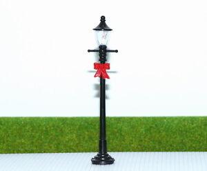 LYC01 10 Stk. Gartenlampen 102mm 3V Spur 0 / 1 Leuchte Lampen mit Schleife NEU