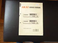 Original Service Manual Schaltplan  Akai HX-2 HX-3