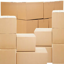 NEW 20 DOUBLE WALL Cardboard House Moving Removal Packing Boxes Shipping Box