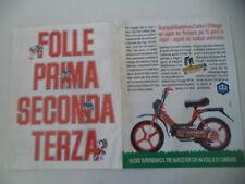 advertising Pubblicità 1987 PIAGGIO SUPERBRAVO SUPER BRAVO 3 50